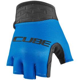 Cube Performance Short Finger Gloves Kids, blue